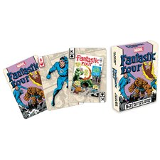 Fantastic Four Playing Cards