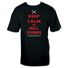 Keep Calm Zombies T Shirt
