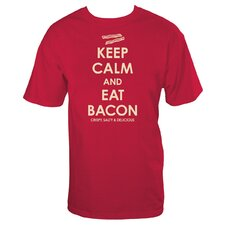 Keep Calm Bacon T Shirt