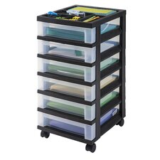 "26"" 6-Drawer Cart"