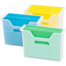 Letter Size Desktop File Box (Set of 6)