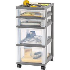"26"" 4-Drawer Cart"