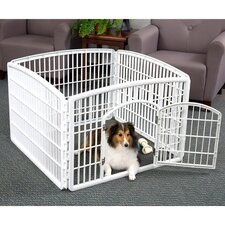 "24"" Indoor/Outdoor Plastic Pet Pen"