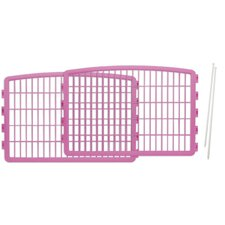 "23.63"" Add-on Kit for 4 Panel Indoor/Outdoor Pet Pen"