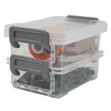 <strong>Iris</strong> Layered Latching Box (Set of 2)
