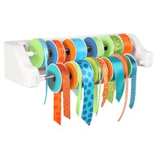 Craft Wall 2 Dowel Ribbon Organizer