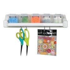 Craft Wall 1 Dowel Supply Organizer