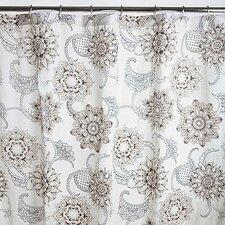 Henna Tattoo Cotton Sateen Shower Curtain