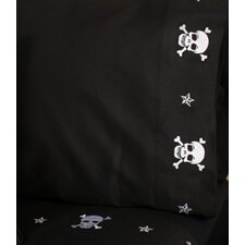 Jolly Roger Skulls Pillowcase (Set of 2)