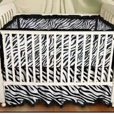 Zebra Baby Play Blanket in Black