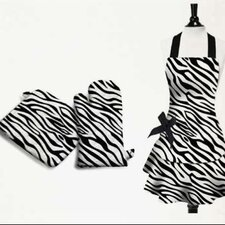 Zebra Kitchen Gift Pack in Black