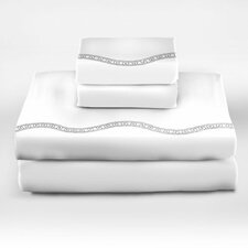 <strong>Sin In Linen</strong> Lock and Chain 300 Thread Count Sheet Set