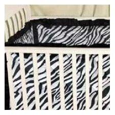 Zebra Baby Crib Bumper