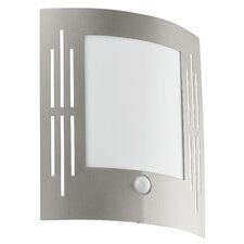 City 1 Light Outdoor Stainless Steel Wall Bracket