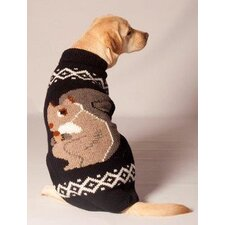 Squirrel Dog Sweater