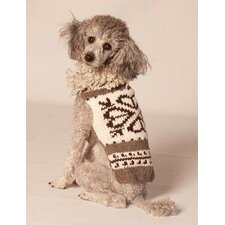 Heart Shearling Dog Sweater