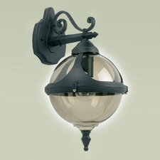 Round 1 Light Outdoor Wall Semi-Flush Light