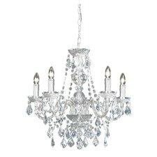 5 Light Crystal Chandelier III
