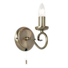 Classic 1 Light Candle Wall Light