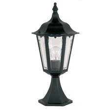 1 Light Exterior Post Top Pedestal Lantern