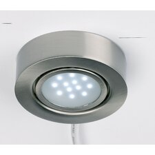 Prewired Downlight in Satin Chrome