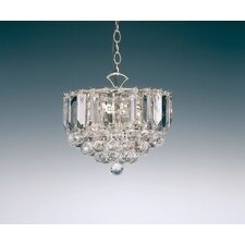 3 Light Small Crystal Chandelier