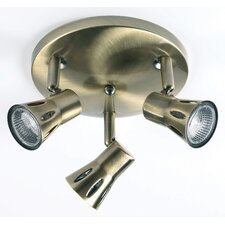 3 Light Semi Flush Light