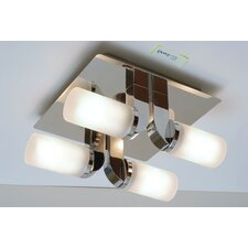 Enluce 4 Light Semi Flush Light