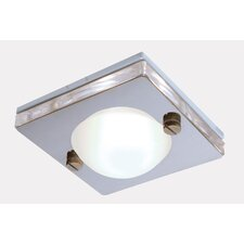 Enluce Recessed Shower Light in Stainless Steel