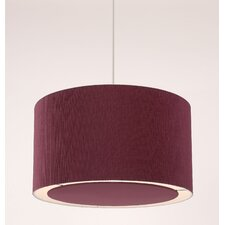 Colette 1 Light Drum Pendant (Shade only)