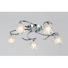 Picado 5 Light Semi Flush Light