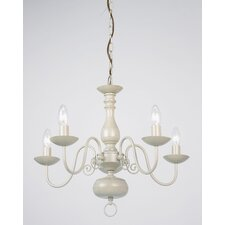 Poesy 5 Light Chandelier