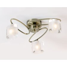 Sonata 3 Light Semi Flush Light