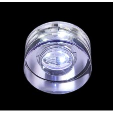 Recessed Downlight in Crystal