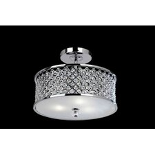 Hudson 3 Light Semi Flush Light