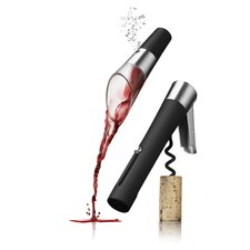 Wineset, Waiters, Corkscrew and Decanting Pourer Vignon