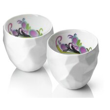 Design by Us Raw Diamonds Espresso Cups (Set of 2)