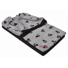 Snuggler Pet Bed with Paws Design
