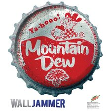 """Mountain Dew Bottle Cap"" Wall Decal"