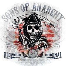 Sons of Anarchy Redwood Original Wall Decal