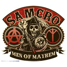 Sons of Anarchy Men of Mayhem Wall Decal
