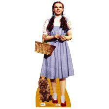 <strong>Advanced Graphics</strong> The Wizard of Oz - Dorothy and Toto Life-Size Cardboard Stand-Up