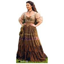 Cardboard The Legend of Zorro - Elena in Peasant Dress Standup
