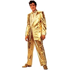 Elvis Presley in Gold Suit Life-Size Cardboard Stand-Up