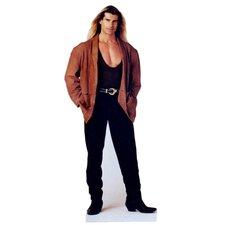 Cardboard Fabio in Jacket Standup