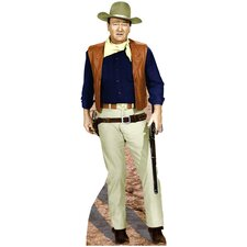 Cardboard Hollywood's Wild West John Wayne - Rifle at Side Standup
