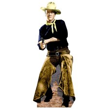 Cardboard Hollywood's Wild West John Wayne with Chaps Standup