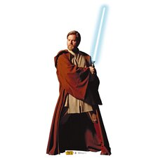 Star Wars - Fighting Obi-Wan Kenobi Life-Size Cardboard Stand-Up