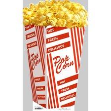 Cardboard Hollywood Popcorn Bag Standup
