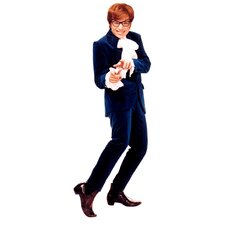 Cardboard Austin Powers - Suit Standup